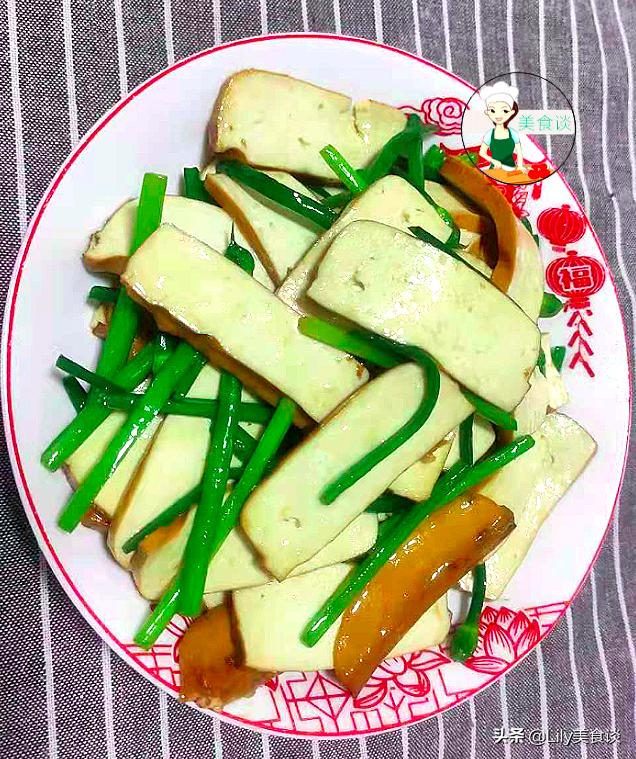 韭菜花炒茶干做法步骤图 春天吃特营养