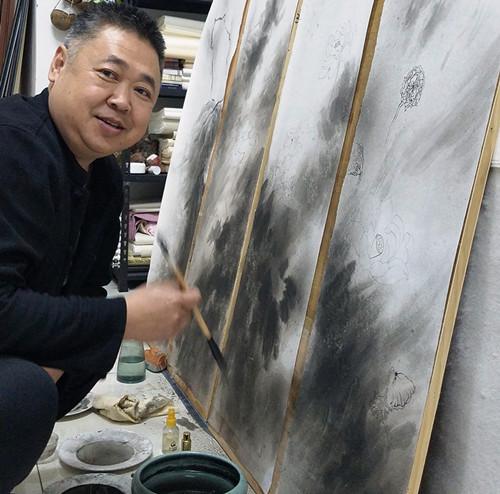 画家风清扬老师作品赏析