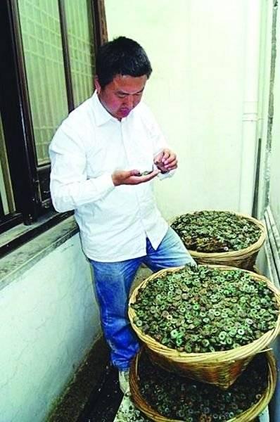 苏州一工地挖出大量古钱币,专家:银的!!!
