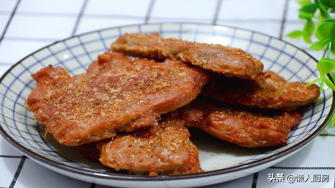 豬排別油炸,這樣簡單處理後的豬排,吃起來很香,根本不會柴