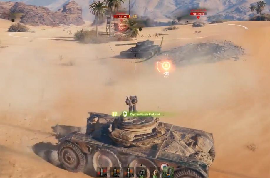 """《坦克世界》不需要炮弹也能够左右战局,法系""""轮子""""的闪电身法"""