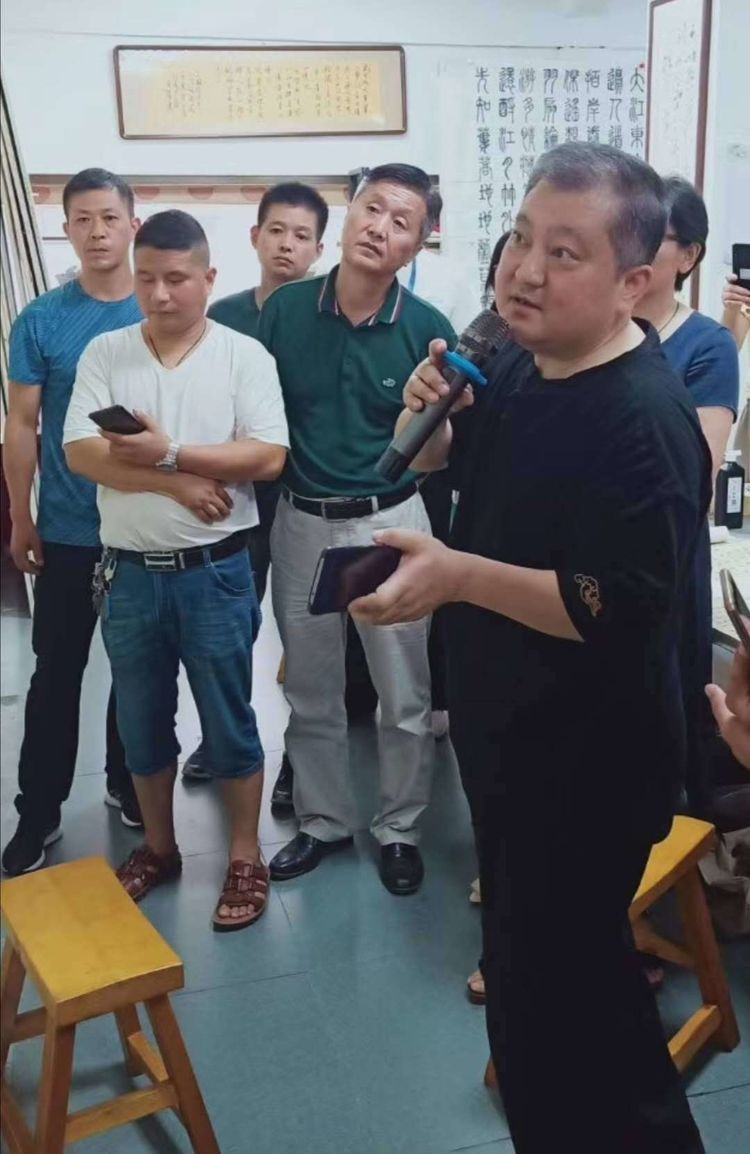 安徽省书法家协会非会员培训班(滁州站)