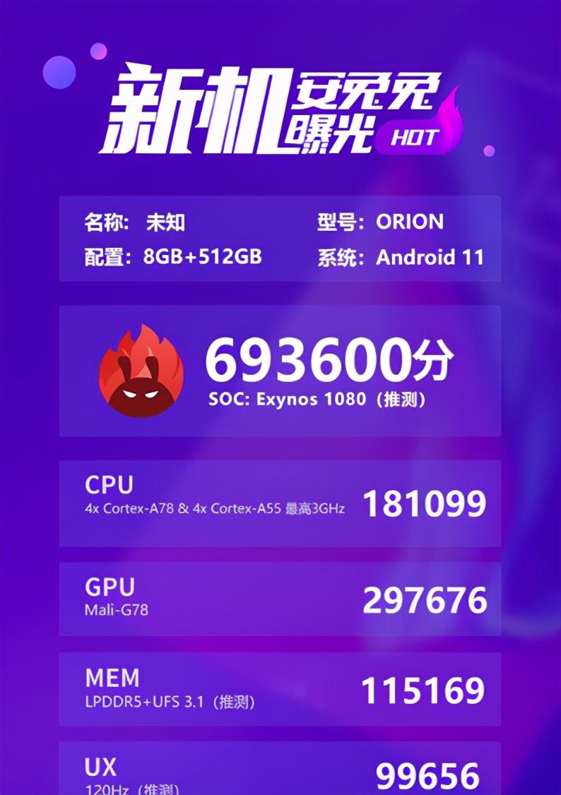VIVOX60首发,猎户座1080正式发布,骁龙865被血虐