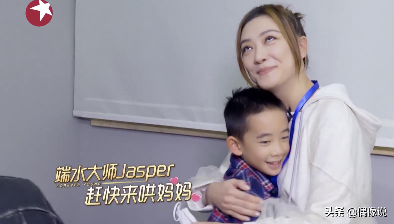 GAI公開兒子出生日期,陳小春直呼太巧,jasper激動熱舞