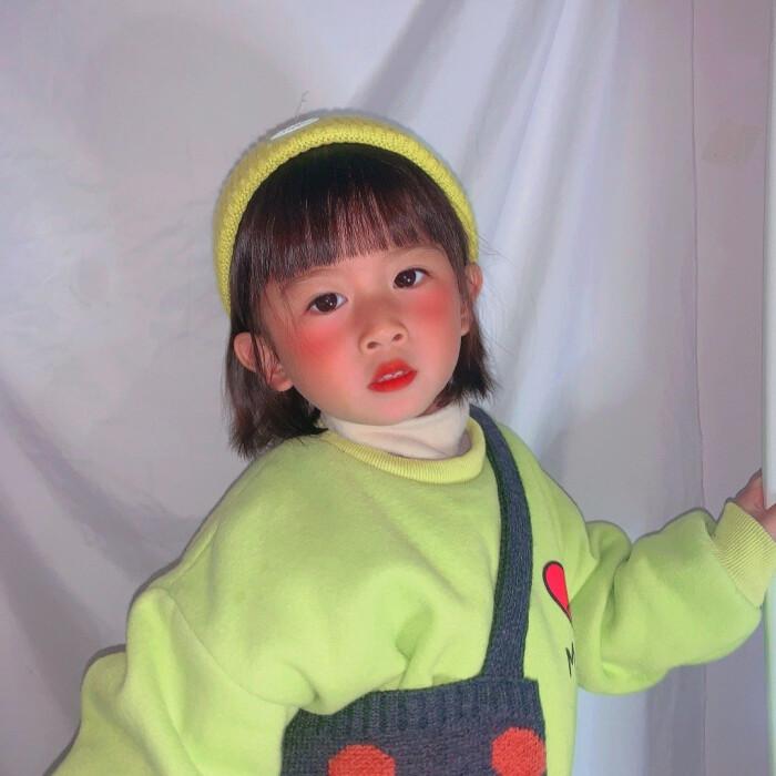 漂亮的小女孩可爱微信头像
