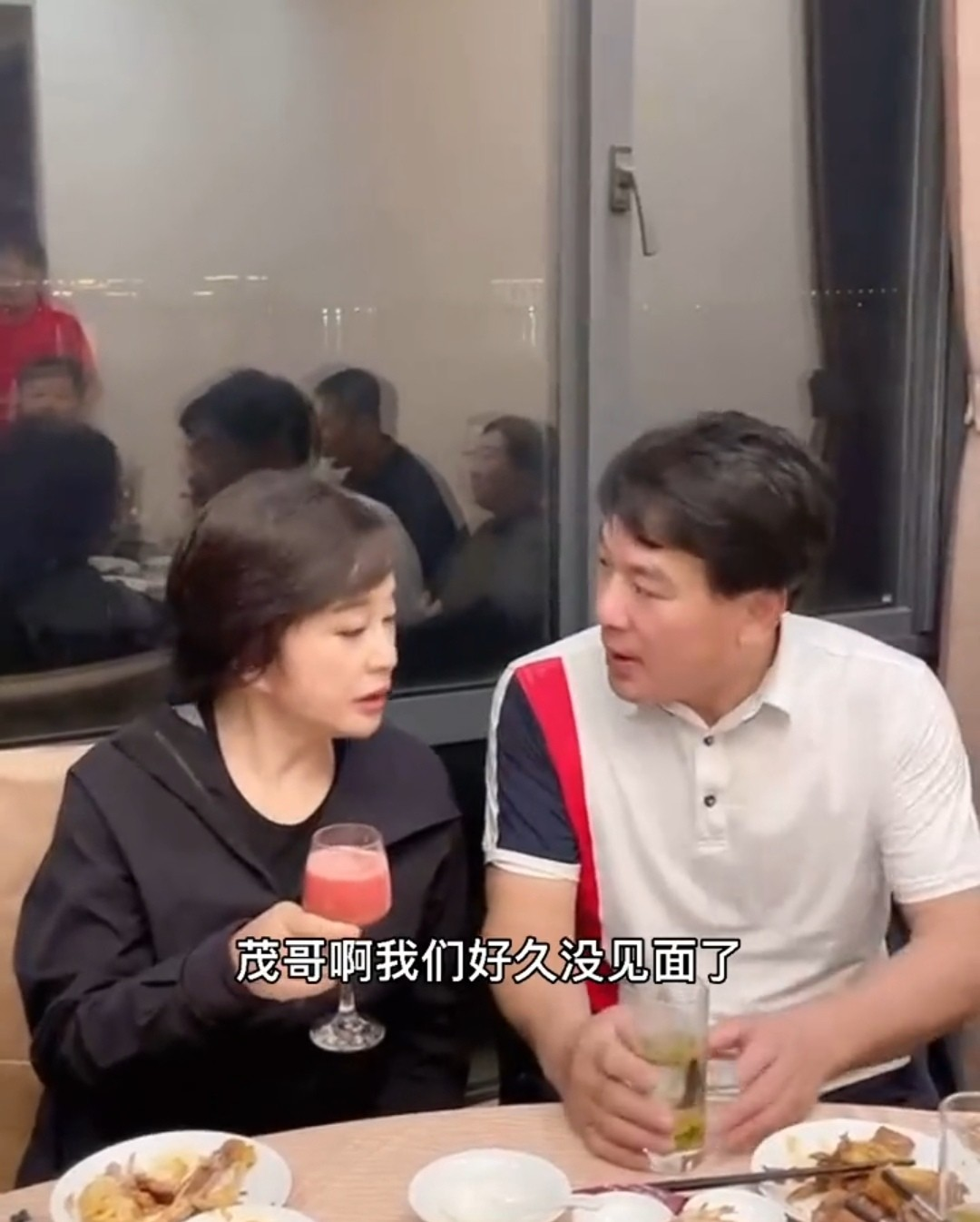 朱时茂刘晓庆聚餐热聊,二人已半年多未见,十几年好友情谊深厚