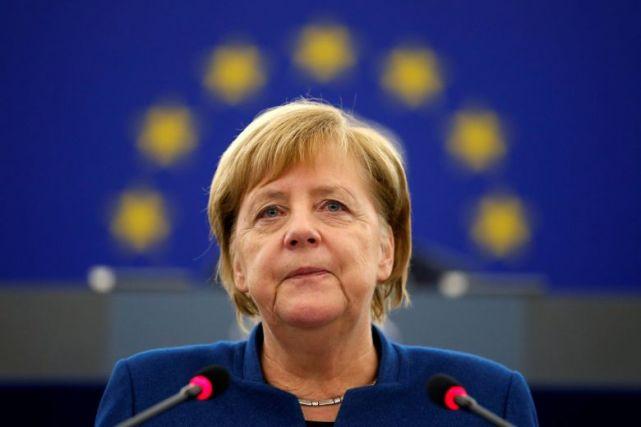 """坚持原则!默克尔再次拒绝禁止华为,美媒称德国是欧洲""""离群者""""(图1)"""