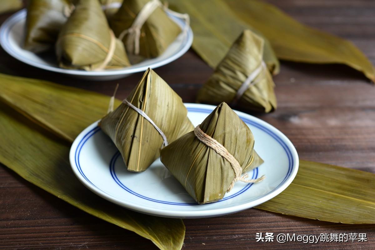 端午节吃粽子,教你3种甜粽子 美食做法 第1张