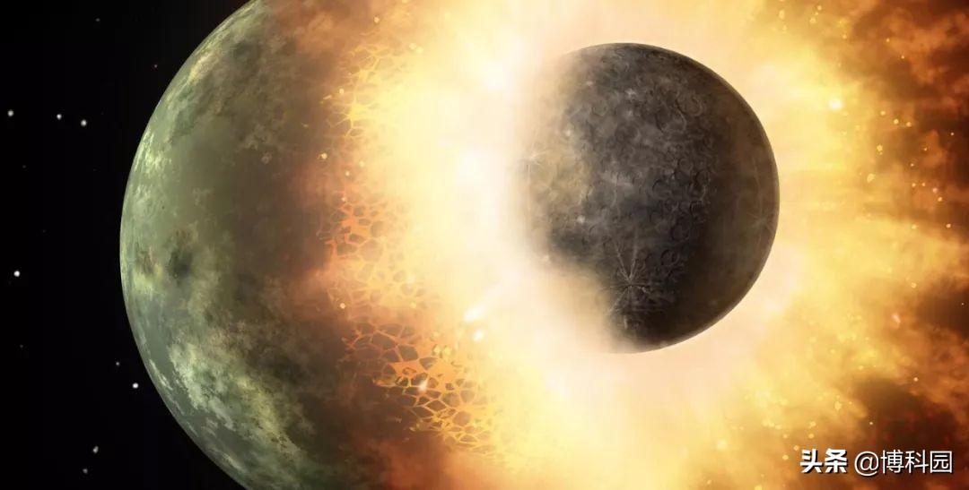 巨大的碰撞,会降低行星内部的压力!比如曾经被撞惨了的地球