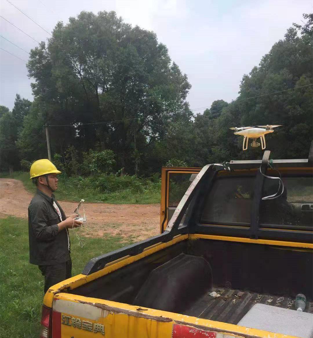 国网上饶市信州区供电公司:开展无人机巡视线路工作