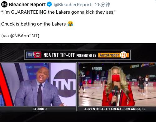 巴克利預測湖人西決肯定晉級,但他此前的預言從未應驗,詹眉這一次能打破毒咒嗎?-黑特籃球-NBA新聞影音圖片分享社區