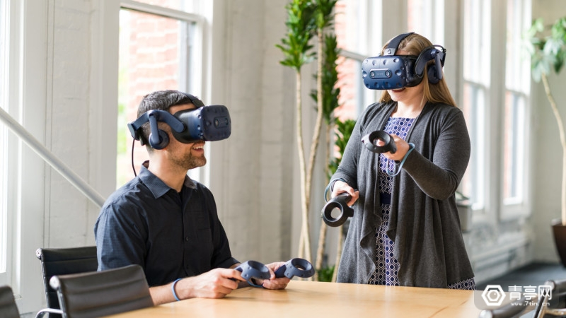 HTC Vive Pro Eye狂降200美元,减少眼球追踪版VR头显价钱门坎