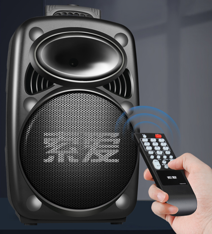 索爱SA-F67户外广场舞拉杆音箱,便携好用,大声量惊艳全场