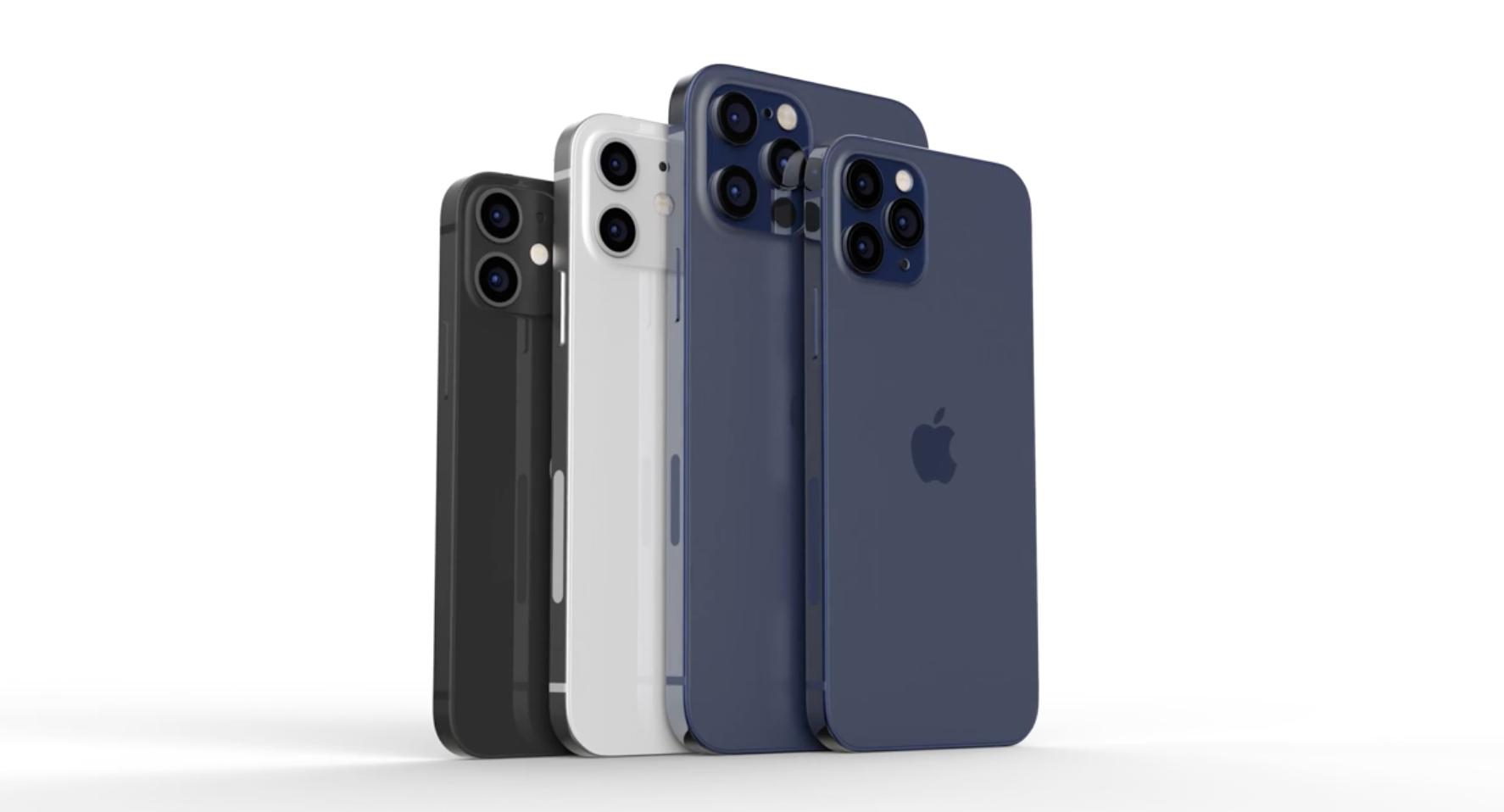 iPhone12颜色曝光,主打海军蓝,iPhone12有六种