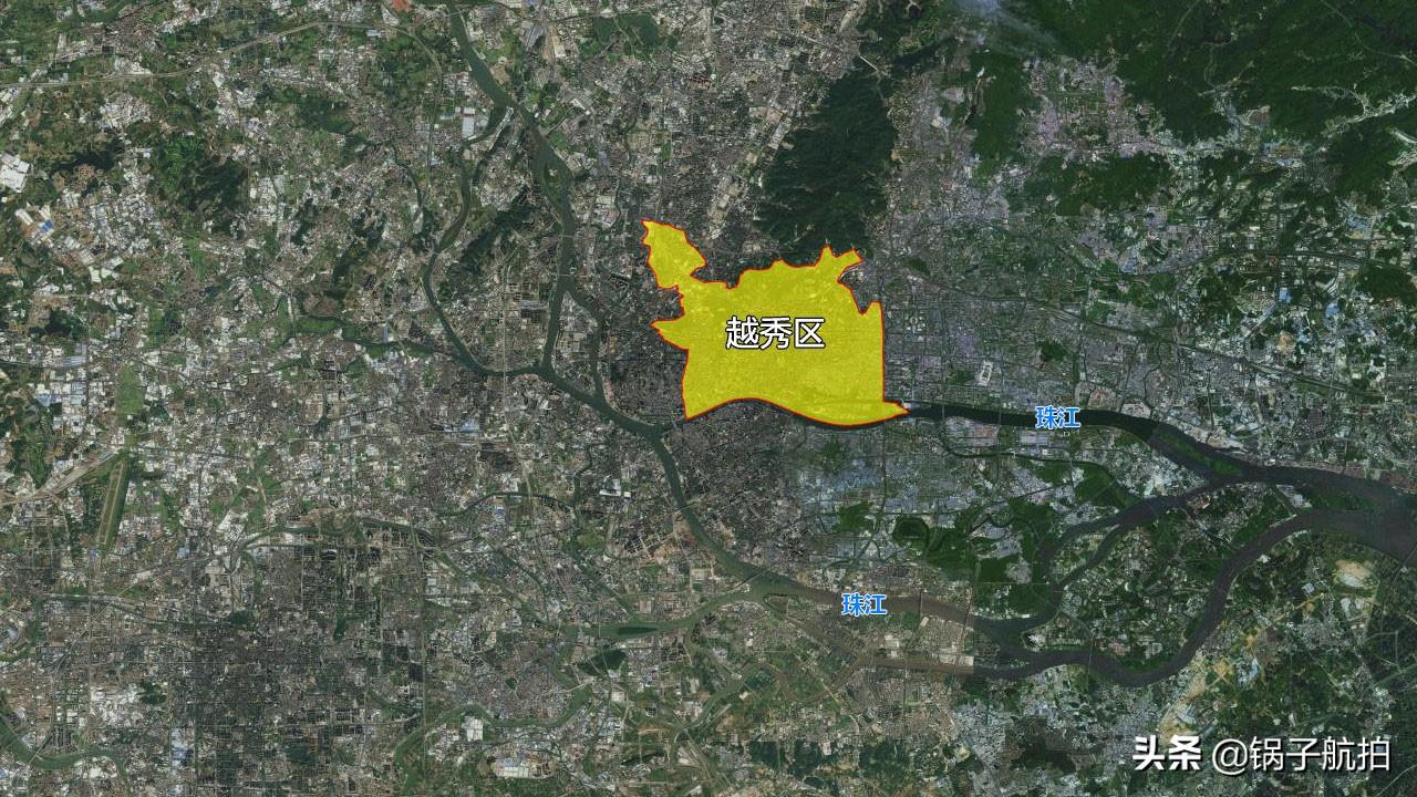 13张地形图,快速了解广东省广州市的11个市辖区