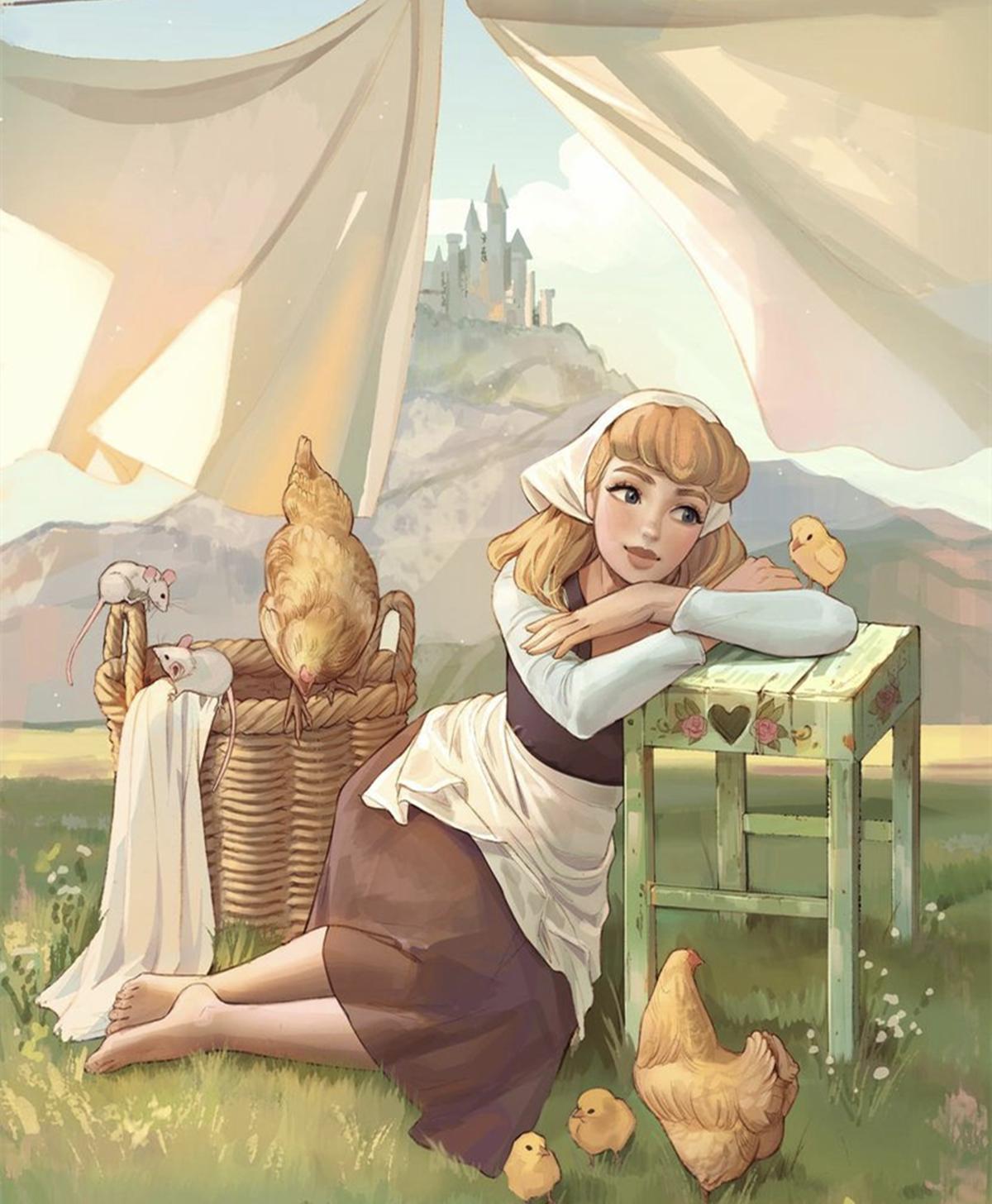 記憶中的童話故事換了畫風,小紅帽馴服了大灰狼,還有其他新故事