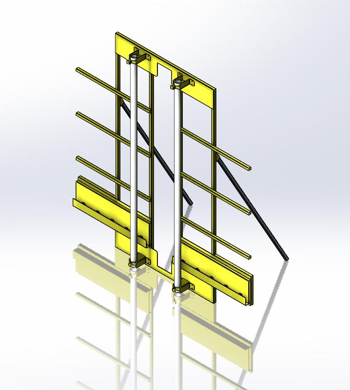 竖板锯3D数模图纸 x_t格式