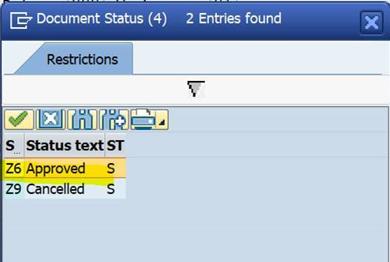 SAP CV02N 审批一个文档