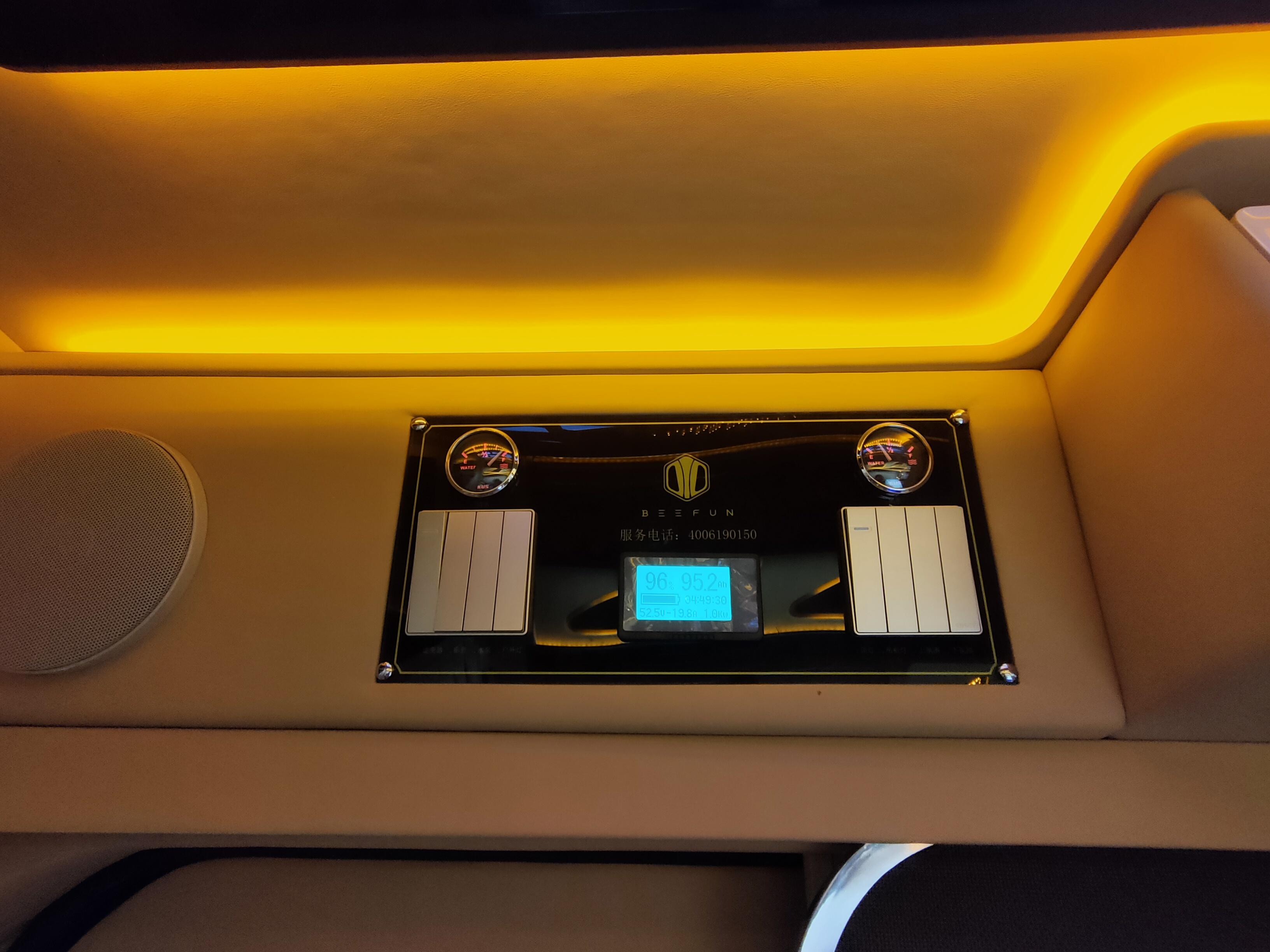 48V房车电路系统加持,趣蜂福特全顺新世代商旅房车最新款发布