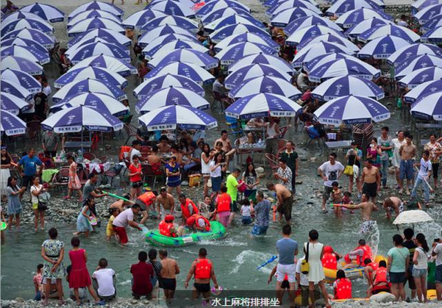 亲水都江堰,虹口漂流爽,夏末时刻抓紧玩水啦