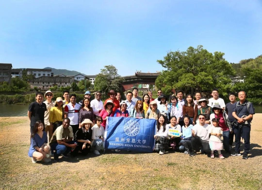 """温肯组织近百名中外教师开启""""寻温""""之旅"""