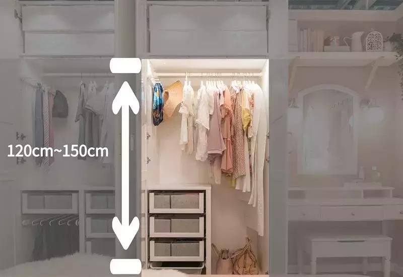 三十年也不过时的衣柜设计!靠这4个定制重点,比多做5㎡还值