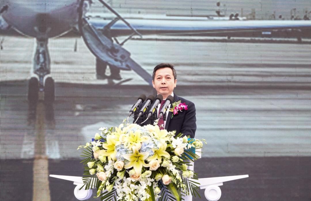 乐百年通航首飞仪式成功举行 多弗航空产业逐梦九天