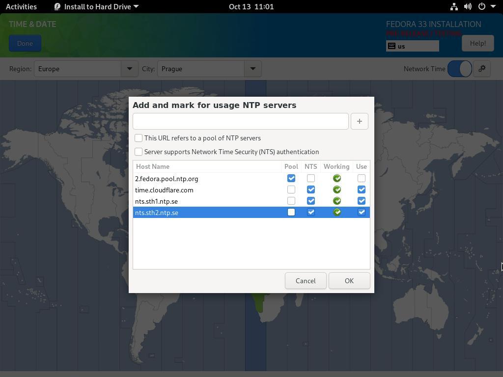 用 NTS 保证 NTP 的安全
