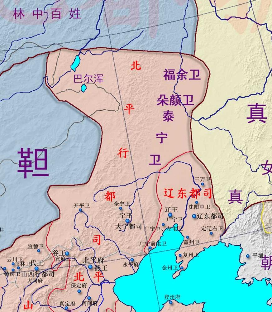 元朝的版图为什么没有被继承下来?明朝丢掉了1000万平方公里土地