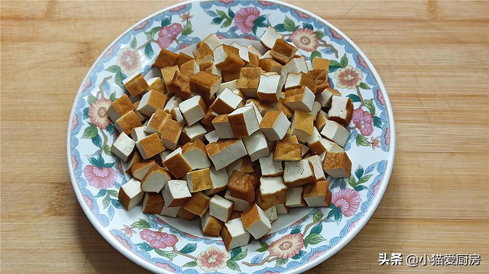 """四川人爱吃的""""凉拌豆腐干"""",这样做低脂开胃,简单方便又好吃 美食做法 第4张"""