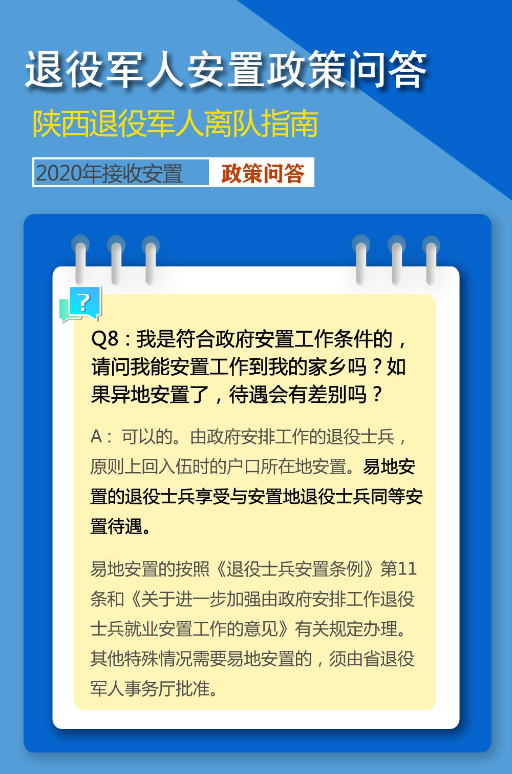 军事界   2020年陕西省退役军人安置问题,你关注的答案都在这里