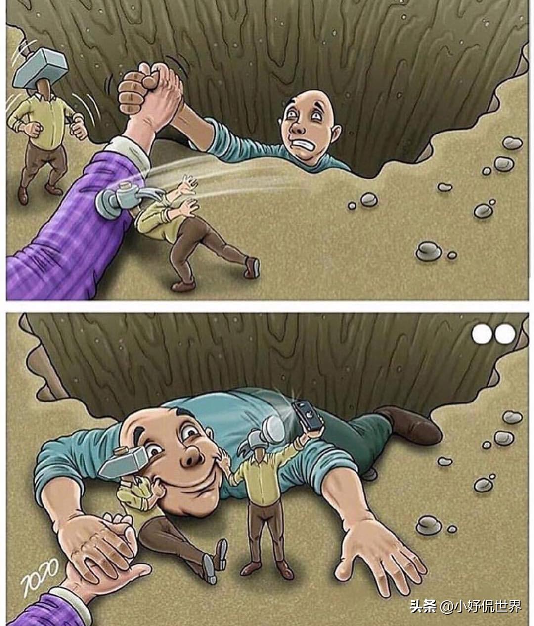 11幅對現實社會存在莫大諷刺的插畫