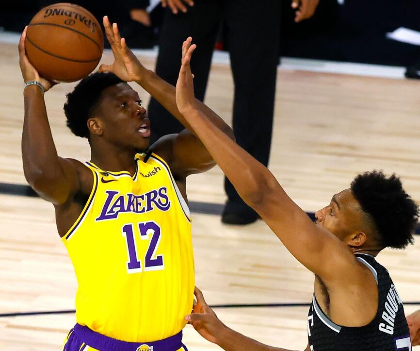 湖人又造一個「Caruso」?19+11悍將看齊禿曼巴,休賽期苦練三分!-黑特籃球-NBA新聞影音圖片分享社區