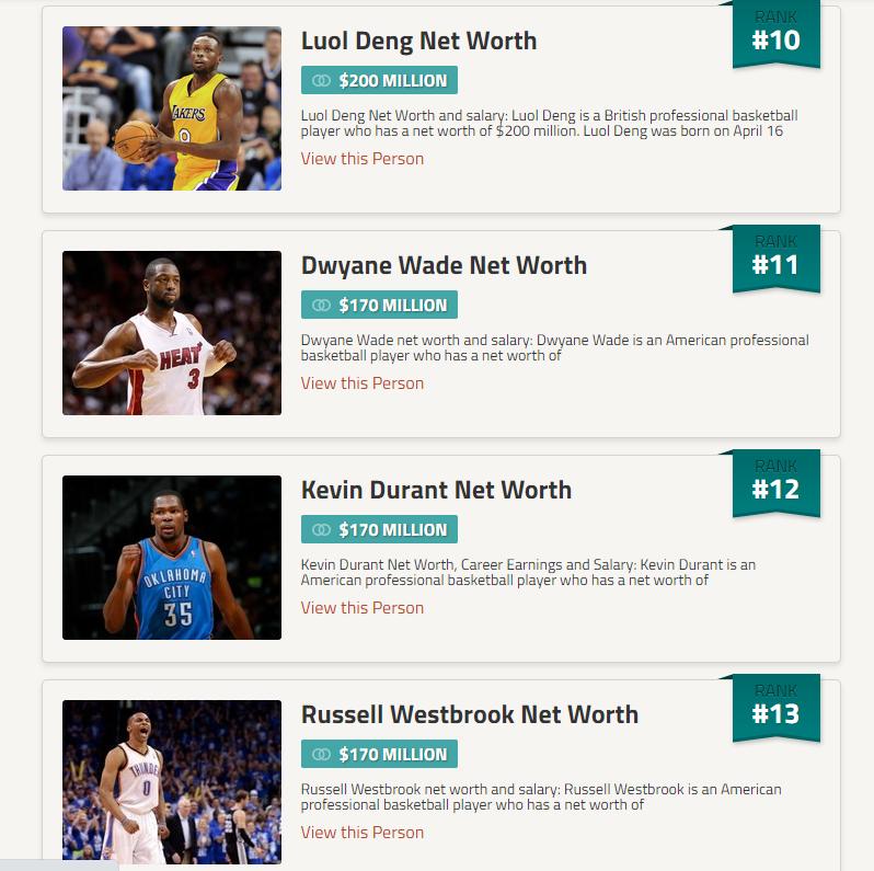 場均14.8分的Luol Deng,投資房產暴富,淨資產已經超越韋德杜蘭特…-籃球圈