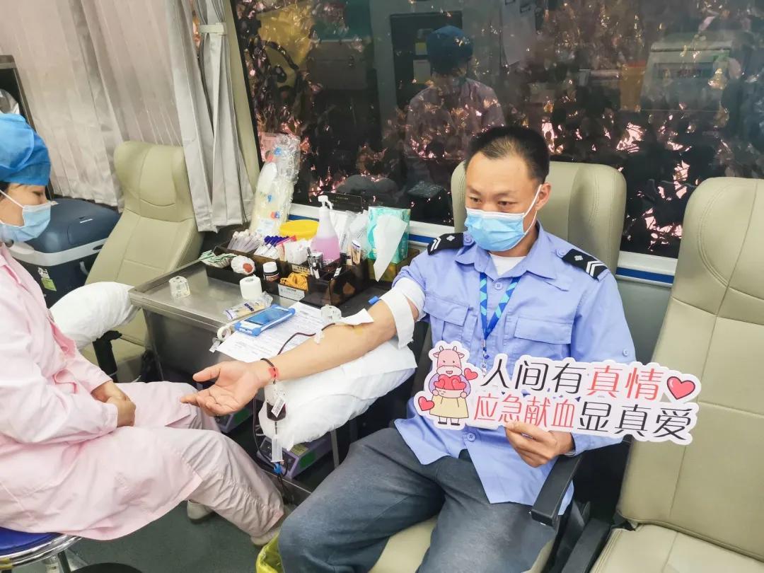 """化纤板块开展""""热血送暖 为生命接力""""无偿献血活动"""