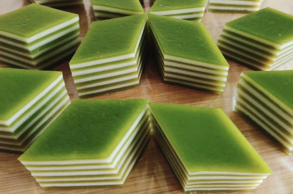 斑斕椰汁千層糕最成功的的做法