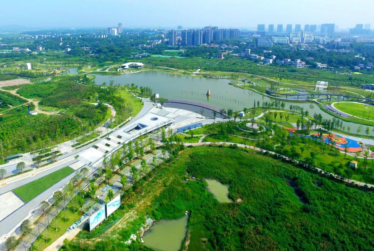 """湘潭碧泉湖片区:绿地发展""""新引擎""""打造城市""""新门户"""""""