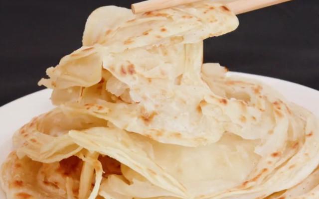 东北特色小吃千层饼做法 色泽金黄酥脆 咬一口满嘴香!