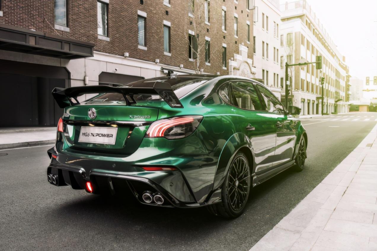可上牌 合法出街 MG官改车型MG XPOWER设计解析