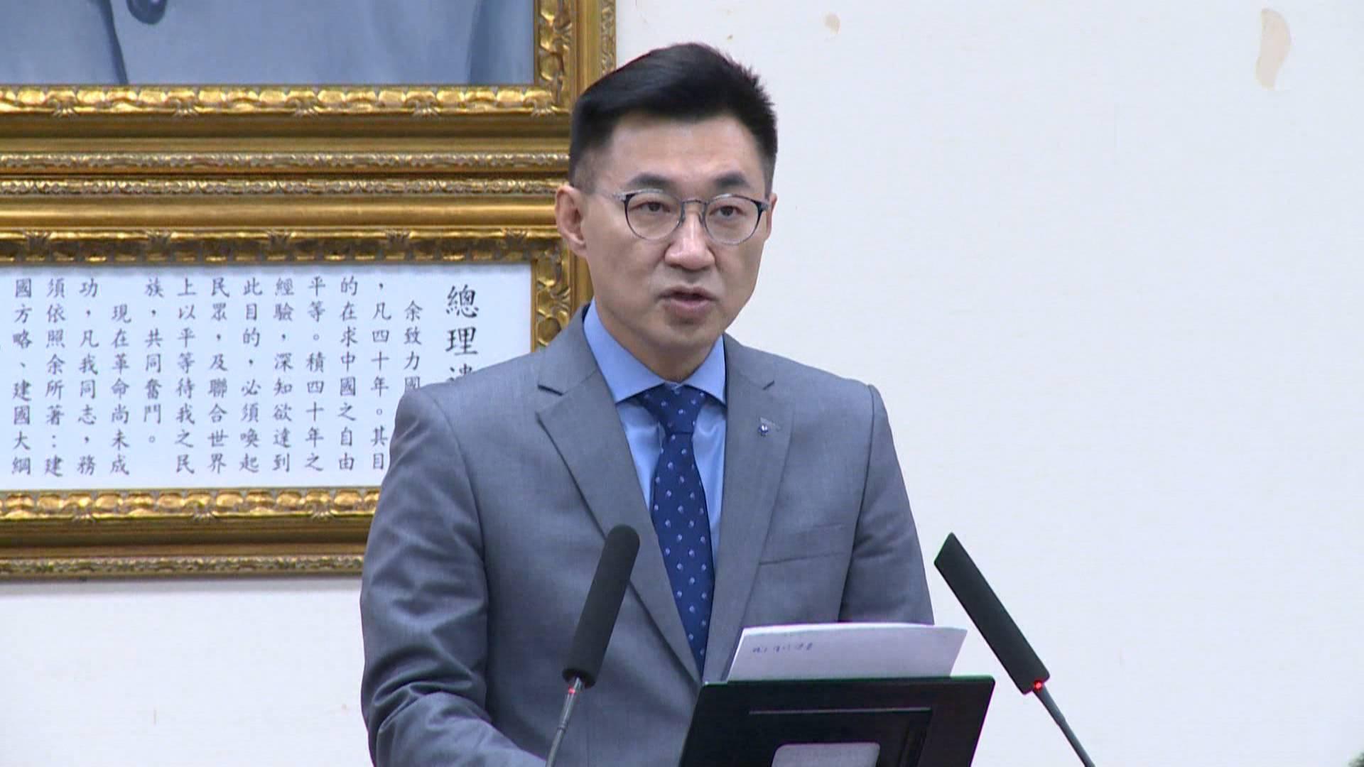 民進黨高官稱疫情破口在萬華,江啟臣痛批綠營知錯不改還卸責人民