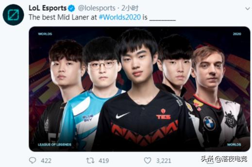 谁将是全球总决赛最强中单?LOL官方推荐五人,左手站C位