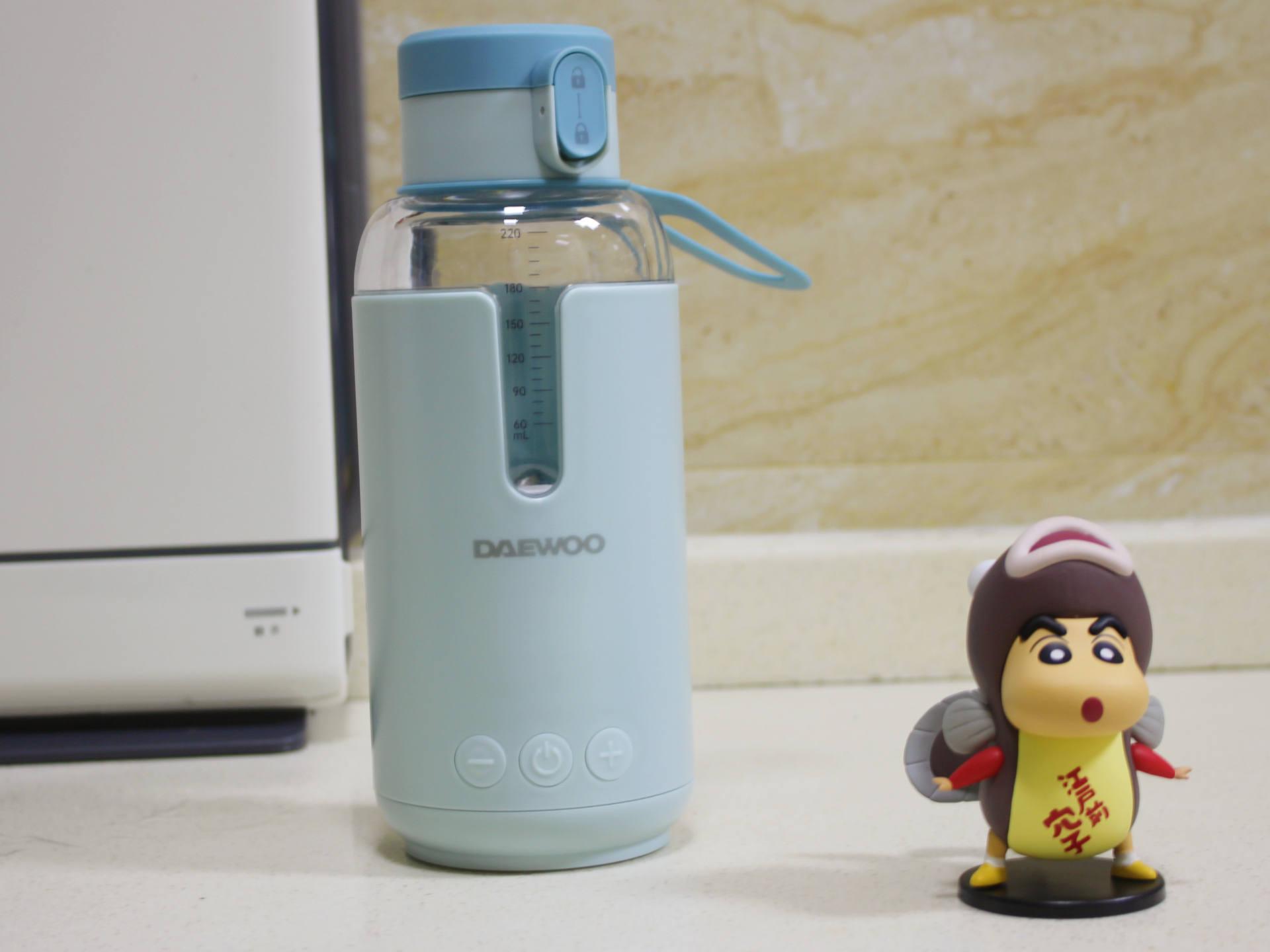 大宇便攜調奶器:隨時隨地給你恰如其分的溫暖