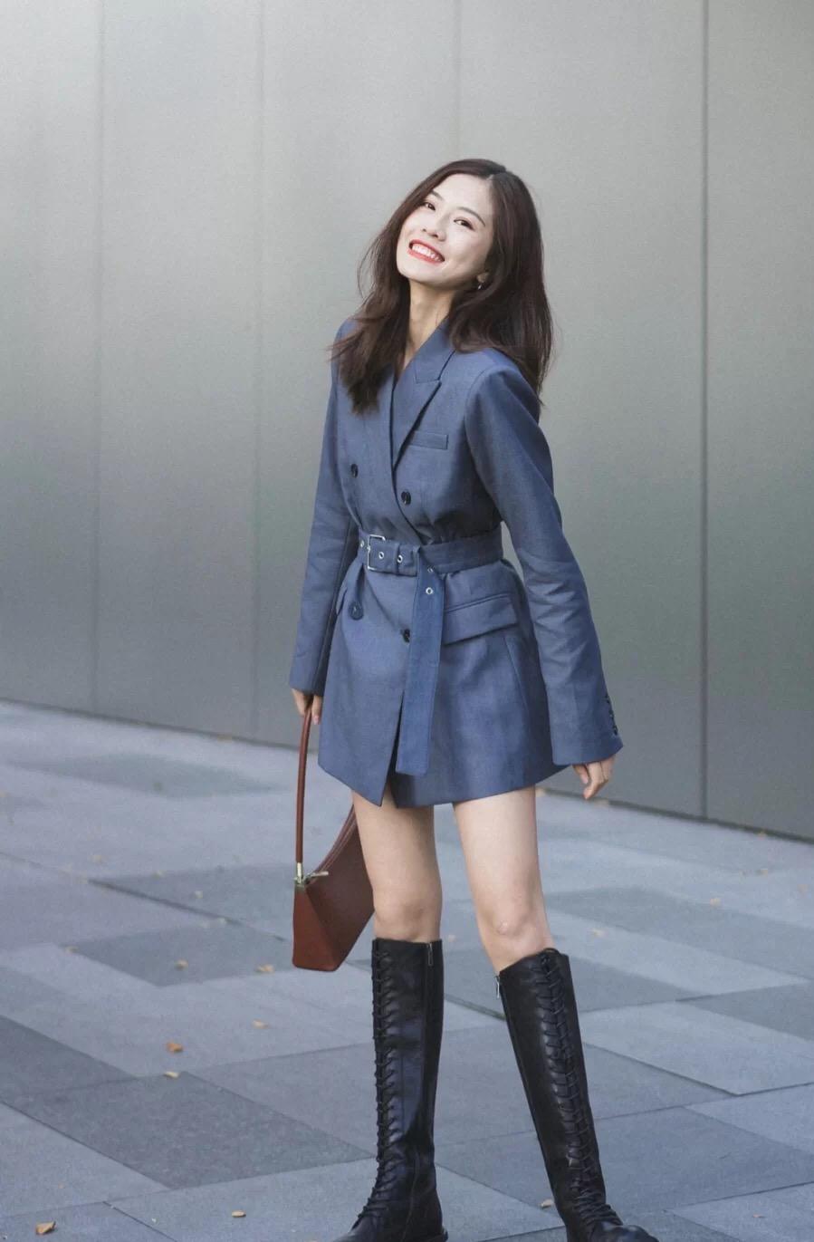 女生穿骑士靴怎么搭配衣服 这样穿搭时尚又显高 让男人毫无抵抗力