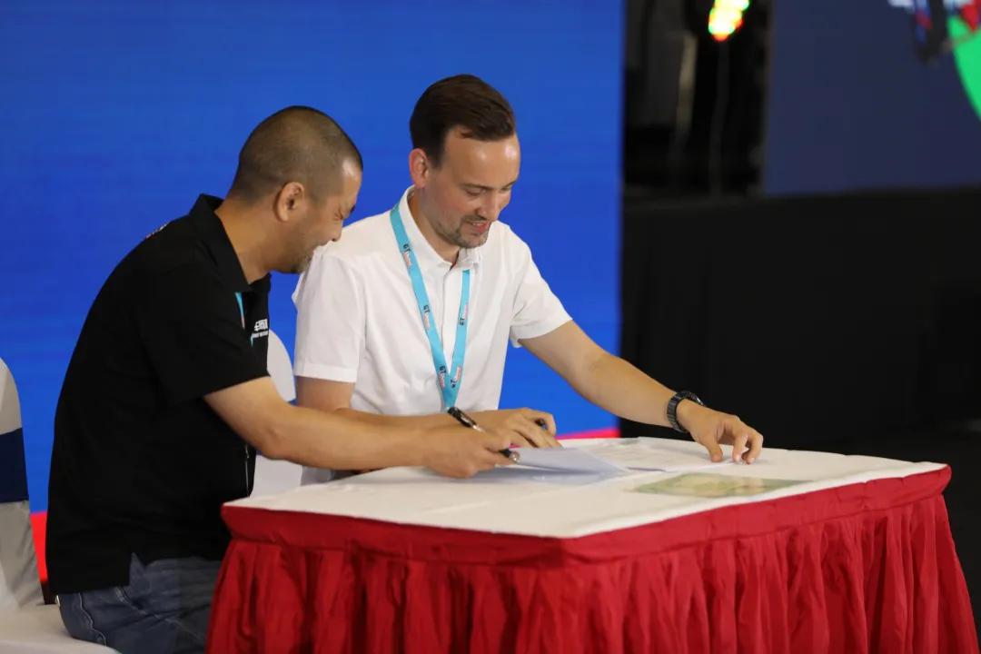 车网联盟与德国力魔正式签约合作