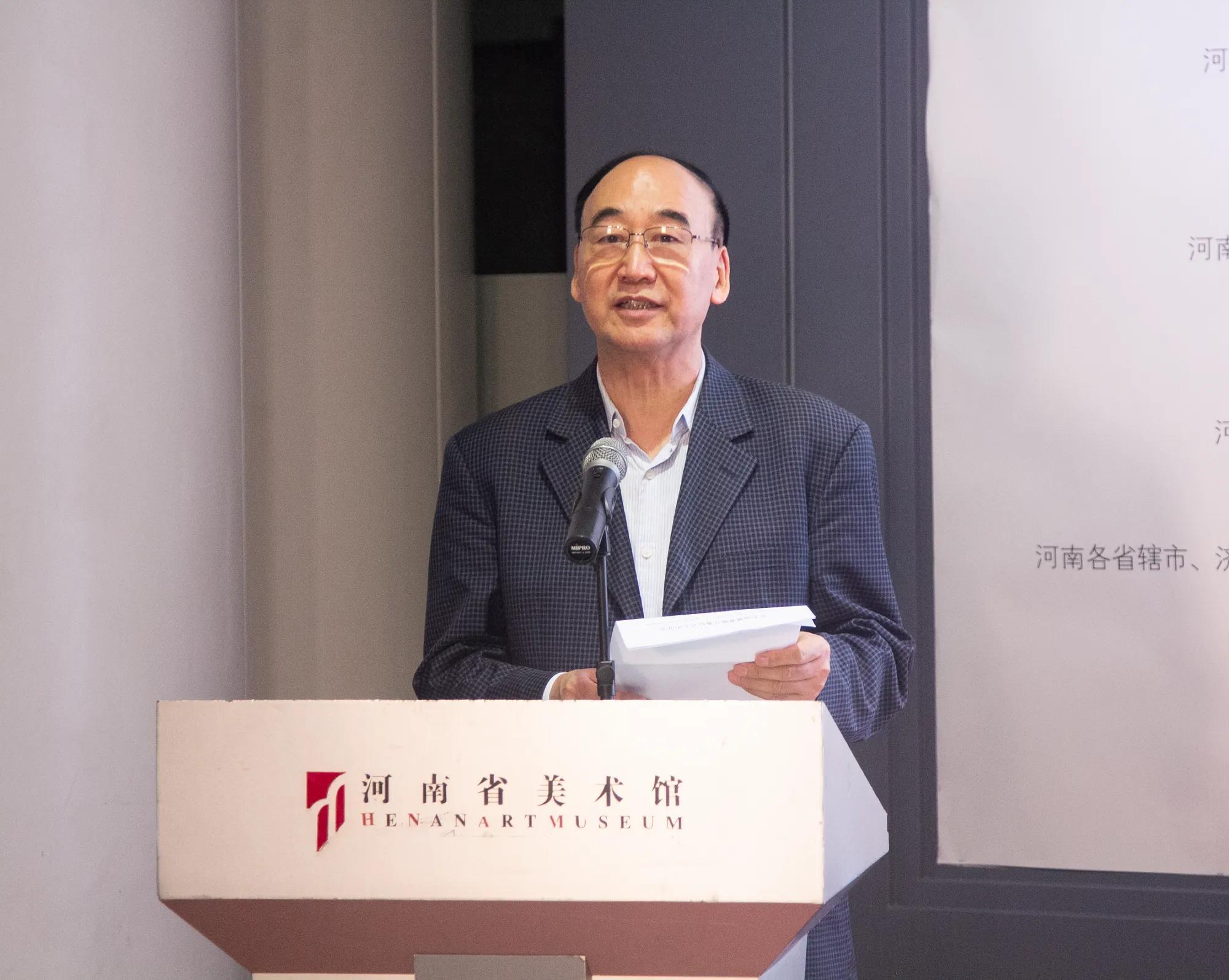 河南郑州举办书画慈善展免费向社会开放