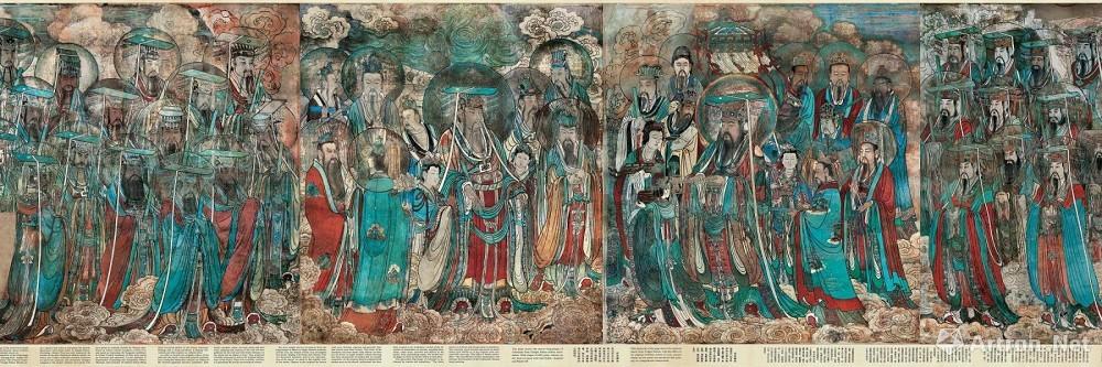 传说中的永乐宫珍品首次露面,20张高清大图先睹为快