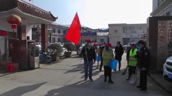 东至县洋湖镇开展迎新春爱国卫生运动 助力常态化疫情防控