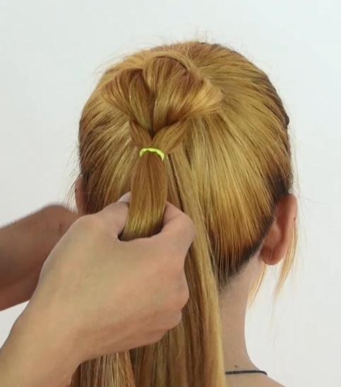 十一出行头发必须好看 编这款马尾辫 手残党也能轻松掌握