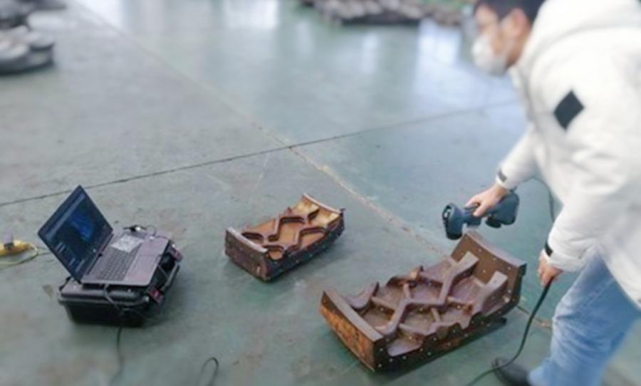 RigelScan广泛应用于轮胎模具的三维质量检测和逆向设计