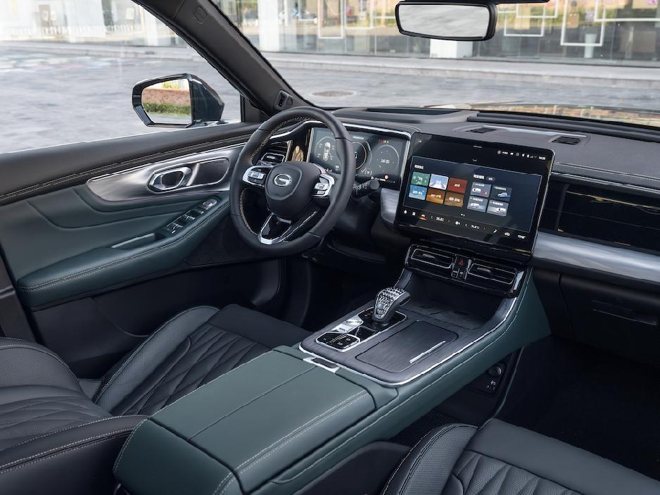 全面进化而来全新第二代GS8,打造越级的驾乘体验